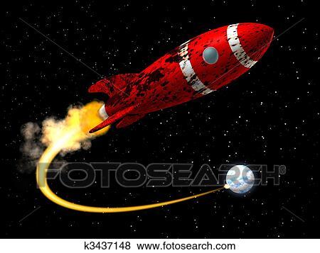 Immagini razzo spaziale da terra k3437148 cerca - Immagini stampabili a razzo ...