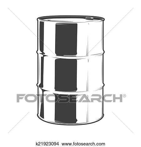 Oil Barrel Drawing Clipart Steel Oil Barrel