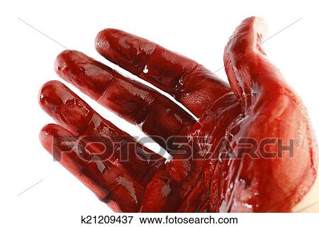 手被刀割流血的囹�a_图片- 流血, 手. fotosearch - 搜索影像,照片,拓印,图像及照片剪贴画