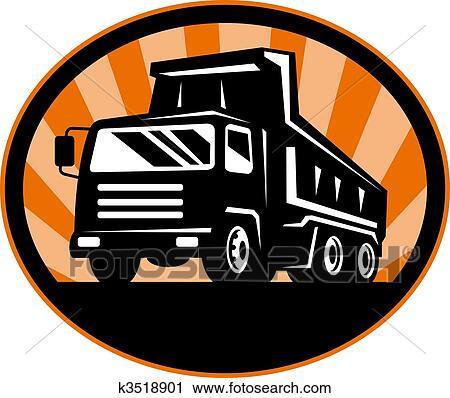 Dump truck Clipart and Stock Illustrations. 467 dump truck vector ...