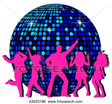 Clip Art Disco Ball Clip Art disco ball clip art and stock illustrations 1646 eps dancing people