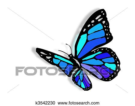 Stock Illustrations of Colorful butterfly k3542230 - Search Clipart ...