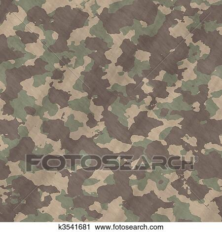 Clipart of camouflage material background texture k3541681 for Camouflage mural