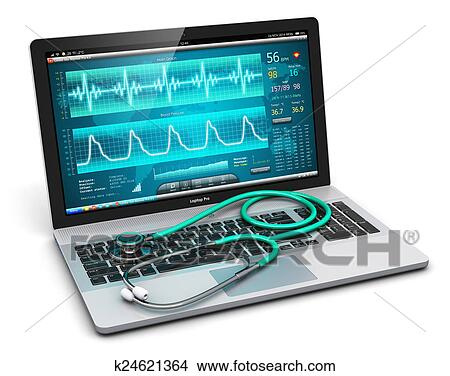 Dessins ordinateur portable monde m dical for Essai ecran pc