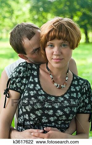 Sex Teen Paar küssen