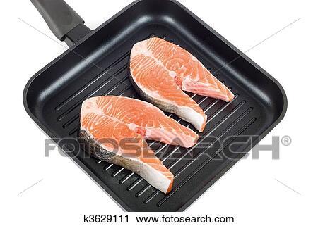 Стейк трески на сковороде рецепт с фото
