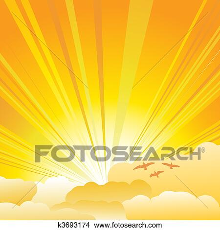 Clip Art Sunburst Clipart clip art of sunburst k1919222 search clipart illustration sunburst
