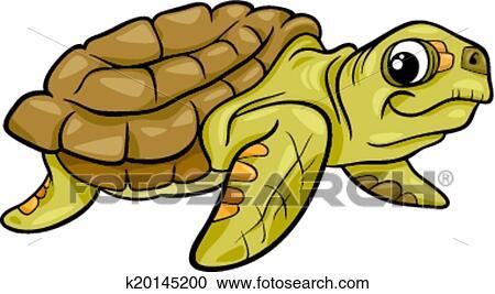 剪贴画 - 海海龟, 动物