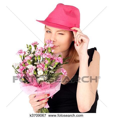 Позы для дома с цветами