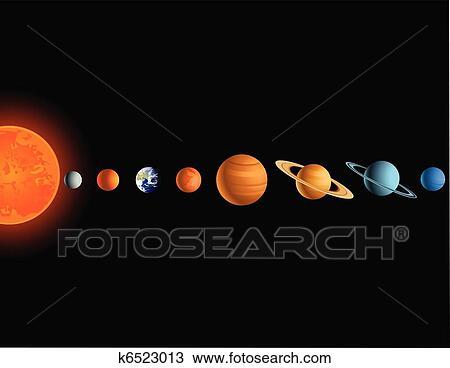 solar system sketch - photo #25
