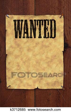 Wanted poster Stock Illustrations. 441 wanted poster clip art ...