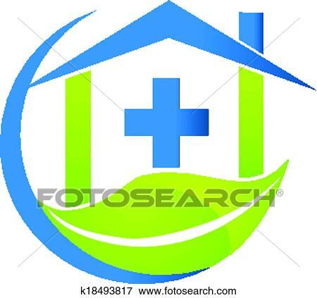 clip art of medical symbol nature business logo k18493817 search rh fotosearch com nature clip art vector nature clip art borders