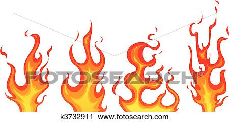 clipart of flames k3732911 search clip art illustration murals rh fotosearch com clip art of flames and doves clipart flames of fire