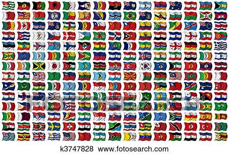 all verdens flagg