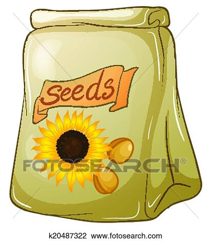 david sunflower seeds clipart - photo #44