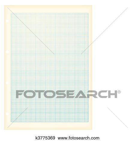 clip art of grunge a4 graph paper blue k3775369 - search clipart