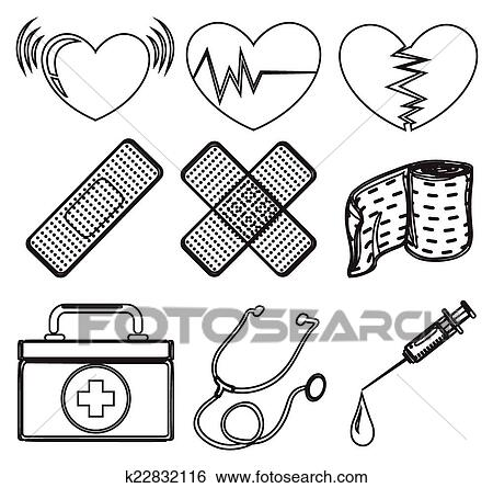 kids coloring pages doctors tools - photo#25