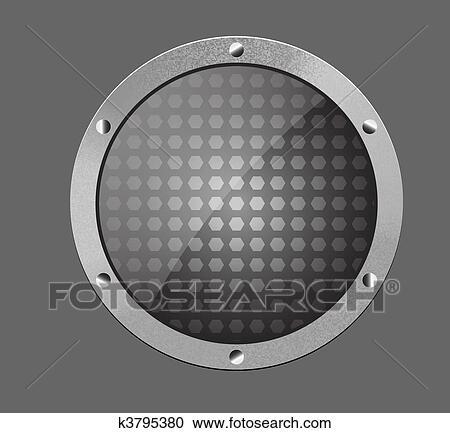 clipart m tallique brillant argent gris bouton w k3795380 recherchez des clip arts des. Black Bedroom Furniture Sets. Home Design Ideas