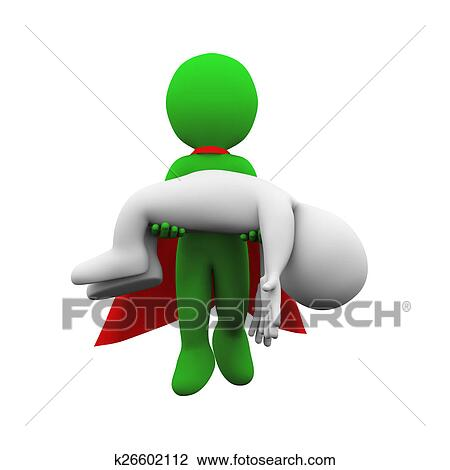 clip art of 3d flying superman super hero resc k26602112 search rh fotosearch com 3d clipart for cnc router 3d clipart for cnc wood