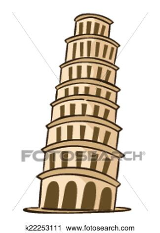 clipart of pisa italy k22253111 search clip art illustration rh fotosearch com rome italy clipart florence italy clipart