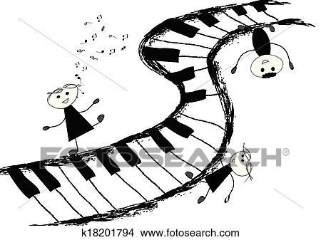 同时,, 钢琴键盘
