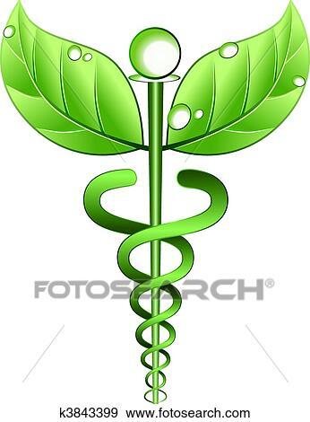 Clip Art Of Alternative Medicine Symbol Vector K3843399 Search