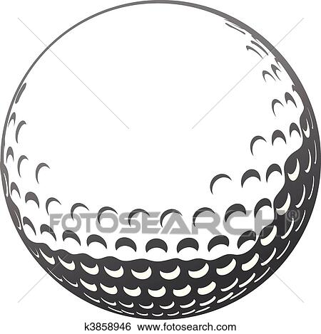 Clip Art Golf Ball Clip Art stock images of golf ball k0076666 search photography poster photos pictures and photo clip art jpg