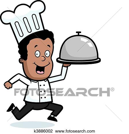 clipart of chef delivery k3886002 search clip art illustration rh fotosearch com clipart delivery van clipart delivery van