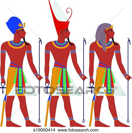 clipart of ancient egypt pharaoh pack for passover k19050414 rh fotosearch com pharaoh headdress clipart pharaoh mask clipart