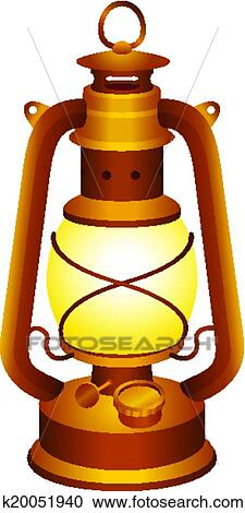 Clipart Of Old Lantern K20051940 Search Clip Art