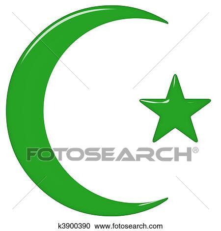 Banque d 39 illustrations 3d islamique symbole k3900390 recherchez des - Banque chaabi credit islamique ...
