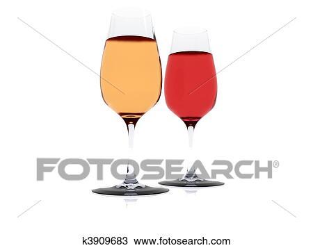 手绘图 - 葡萄酒杯