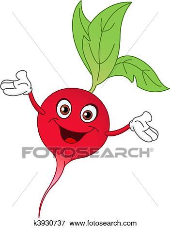 clip art of radish k3930737 search clipart illustration posters rh fotosearch com radish plant clipart Eggplant Clip Art