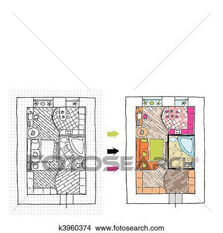Clipart inneneinrichtung wohnungen oberseite for Wohnungen inneneinrichtung