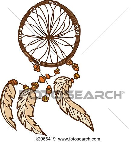 Clip art of dreamcatcher k3966419 search clipart for Dream catcher graphic