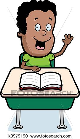 Clipart of Student Classroom k3979190 - Search Clip Art ...