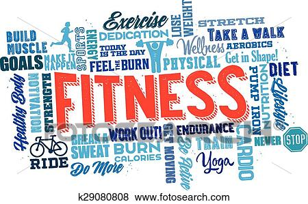 fitness word art selo l ink co