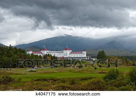 Stock Image of Mount Washington hotel k4047175 - Search Stock ...