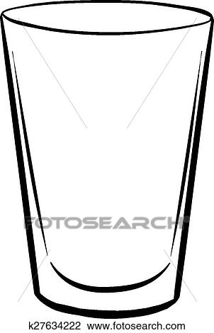 clipart of water glass k27634222 search clip art illustration rh fotosearch com glass of water clipart png glass of water clipart png