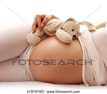 фото беременных девушек голых