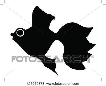 剪贴画 - 金鱼图片