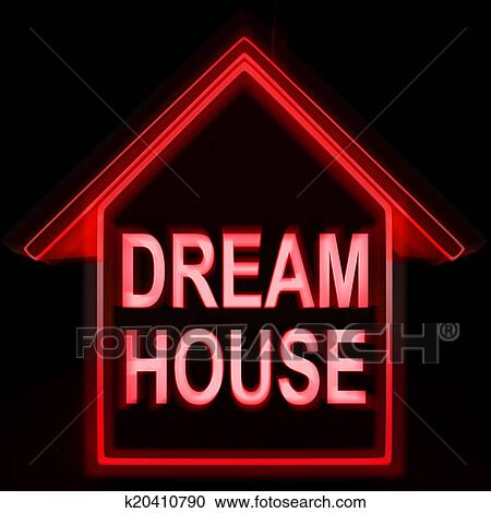 Stock illustrations of dream house homes means perfect for for Dream house finder