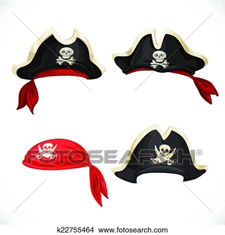 Pirate bandana clipart