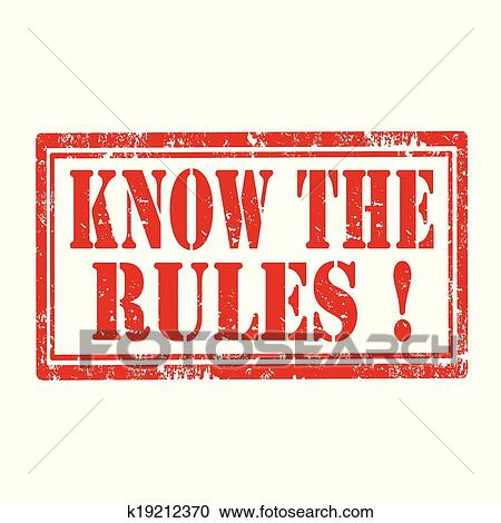 know the rules clip art � cliparts