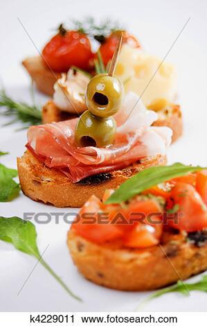 италья еда закуски фото