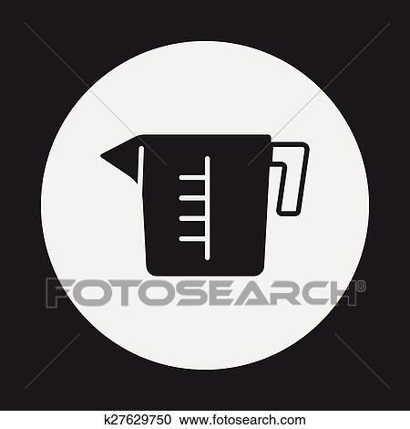 Messbecher clipart  Clipart - meßbecher, symbol k27629750 - Suche Clip Art ...