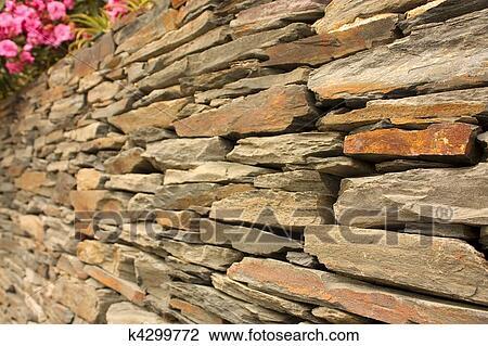 影像 - 牆, ......的, 頁岩, (或者... 影像 - 牆, ......的, 頁岩,