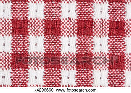 Stock Photography   Red And White Gingham Checkered Tablecloth Background.  Fotosearch   Search Stock Photos