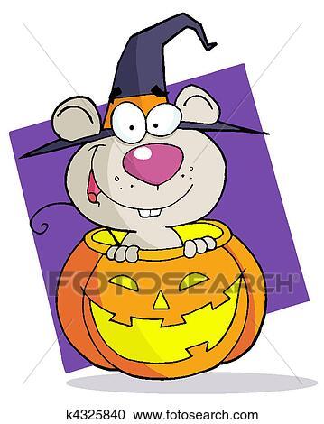 卡通漫画, 性格, 万圣节前夜, 老鼠 剪贴画