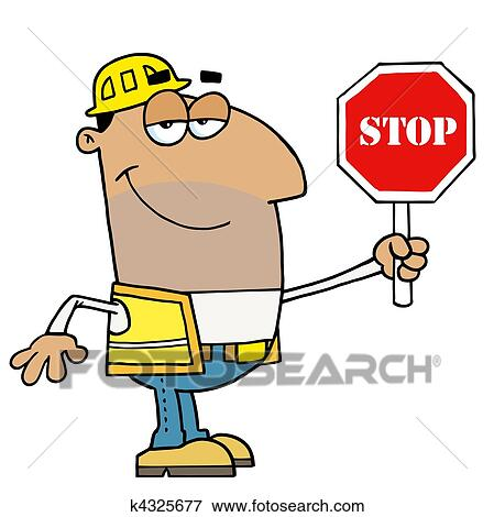clip art of hispanic traffic director k4325677 search clipart rh fotosearch com hispanic culture clipart hispanic boy clipart